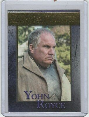 Game Of Thrones Season 5 Gold Base Card 81 Yohn Royce 074/150