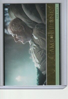 Game Of Thrones Season 5 Gold Base Card 19 The Gift 108/150