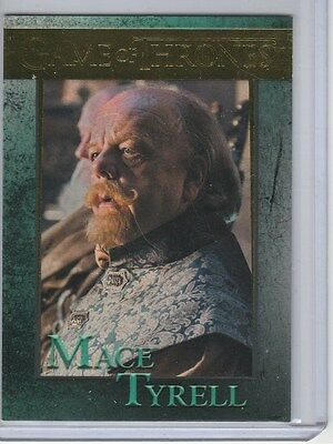 Game Of Thrones Season 5 Gold Base Card 71 Mace Tyrell 68/150