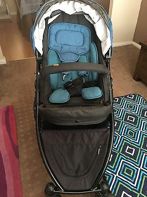 Steelcraft Strider Compact 4 Wheel Pram