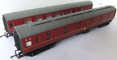 HORNBY RAILWAYS BR Sleeping Car and Brake 2nd coaches