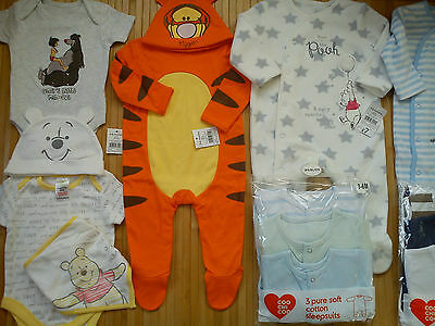 **AMAZING**25x NEW BUNDLE OUTFITS TIGER WINNIE BABY BOY CLOTHES 3/6 MTHS(3)NRA27