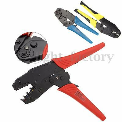 3 Color 0.5-6.0mm²  Crimping Pliers Insulated Terminals Ratchet Tool Wire Plier
