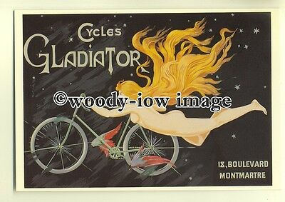 ad0070 - Gladiator Cycles - modern advert postcard