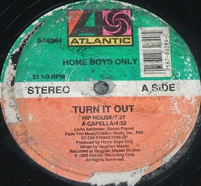 "HOME BOYS ONLY * TURN IT OUT * Classic Soul Funk Boogie 12"" Vinyl"
