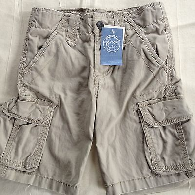 Pumpkin Patch Cargo Shorts, size 2, Brand New with Tags