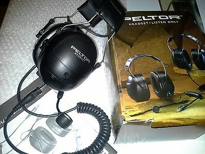 Peltor Communication Headband Headset with Mic. Model: MT7H79A.  Made in Sweden