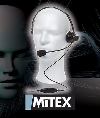 Mitex Headset With Boom Microphone - For All Mitex Handheld Radios