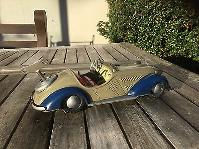 Distler clockwork,tinplate roadster c1950