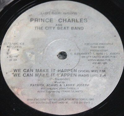"PRINCE CHARLES * WE CAN MAKE IT HAPPEN * Classic Soul Funk Boogie 12"" Vinyl"