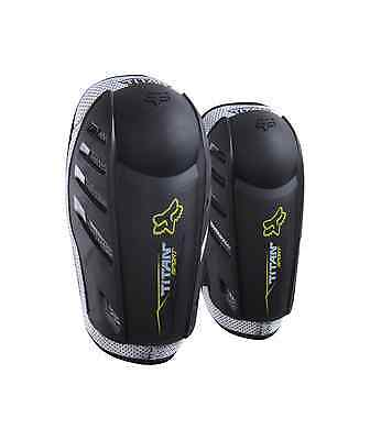 Fox Adult Titan Sport MTB MX Motocross Bike Enduro Elbow Guards Pads - Clearance