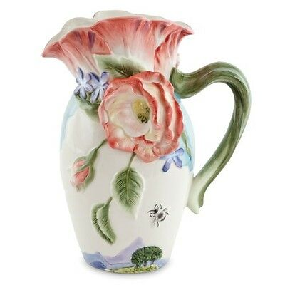 Fitz and Floyd Flourish Collection, 7-oz Pitcher