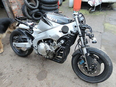 Yamaha Yzf 600 R Thundercat Project  For Spares    P/x Welcome Cash Either Way