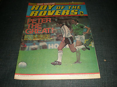 Roy Of The Rovers Comic Book 17Th Nov 1979 Football Gift Idea Birthday Christmas