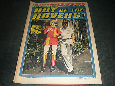 Roy Of The Rovers Comic Book 16Th Jul 1977 Football Gift Idea Birthday Christmas