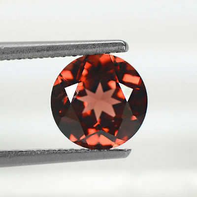 1.60 cts Natural Awesome-inspiring Pyrope Red Garnet Loose Gems Round Cut 7mm