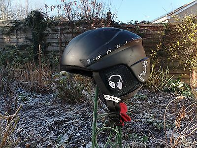 O'Neill Ski or snow board helmet with speakers and phono connection