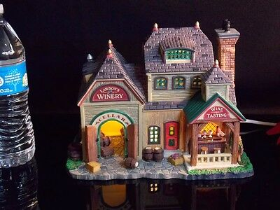 Lemax Christmas Village House Collection Lawson's Winery Lighted Building 2008