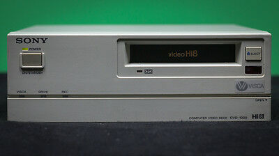 Sony CVD 1000 Video Deck Player and Recorder Hi8