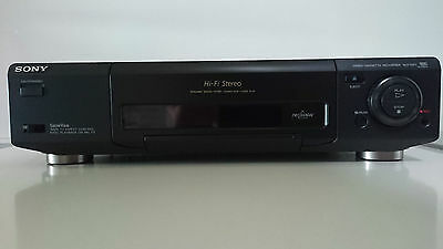 Videoregistratore Sony Slv-E811 Vhs Pal Ntsc Trilogic Vhs Sony Video Recorder