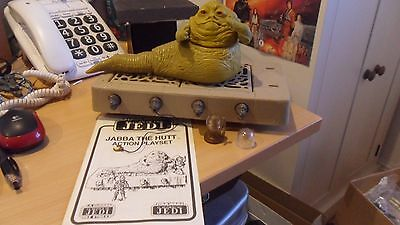 Vintage Star Wars Jabba The Hutt 1983 - Excellent Condition & Near Complete