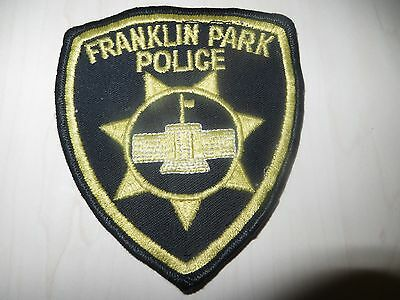 Embroidered Franklin Park Police Patch