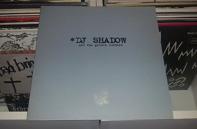 """Dj Shadow And The Groove Robbers - In Flux/hindsight (12"""")"""