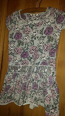 Matalan Dress/top Flowery Age 8-9 Y Hello Kitty Sleeveless Top Age 9-10 Years