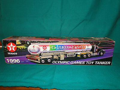 Texaco Toy Tanker Truck, Olympic Games Toy Tanker, 1996 Edition,