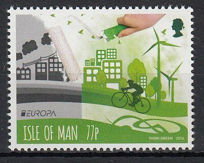 ISLE OF MAN.2016 EUROPA CEPT.THINK GREEN.1 stamp.MNH