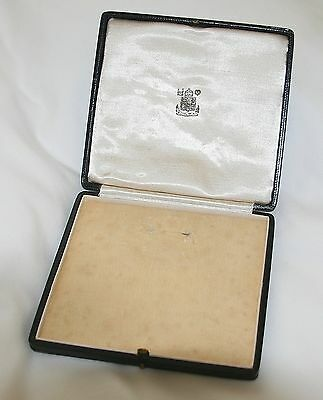 Original Ww2 Period Mbe Medal Case / Box - Excellent