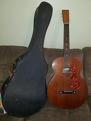 SUPER RARE Vintage 1939 SUPERTONE JUMBO ACOUS. LAP SLIDE MODEL ~BIG SOUND! RARE!