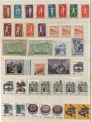 China Lot Used Stamps (A6) Look Scans