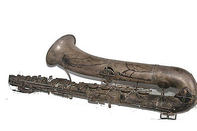 J.W. York And Sons Grand Rapids Mich. Saxophone Low Pitch 28957