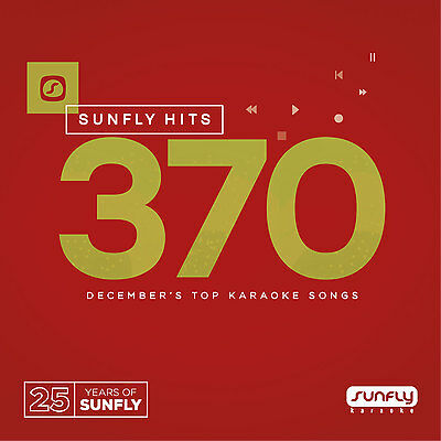 Sunfly Karaoke Hits SF370 December 2016 (CDG) Official Sunfly - Free UK Post