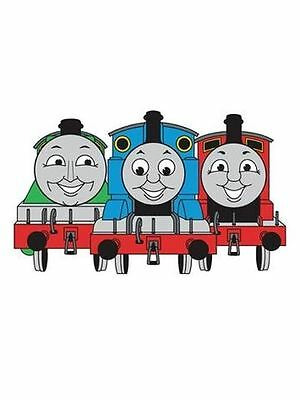 Thomas The Tank Engine & Friends Wall Decor Foam Kids Bedroom 100% Official New