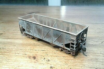 Athearn Ho, 34' Composite Hopper Car, Southern Pacific #41816, Weathered.   (9)