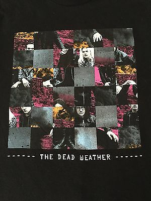 The Dead Weather Concert Tour Shirt Large Jack White White Stripes Third Man