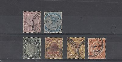JAMAICA QUEEN VICTORIA GV  STAMPS USED VALUES TO 1/- .Rfno.22.
