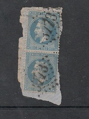 FRANCE STAMPS USED ON PAPER  .Rfno.148.