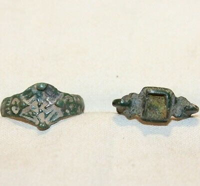 Lot 2 Original ancient ring artifact intact original patina