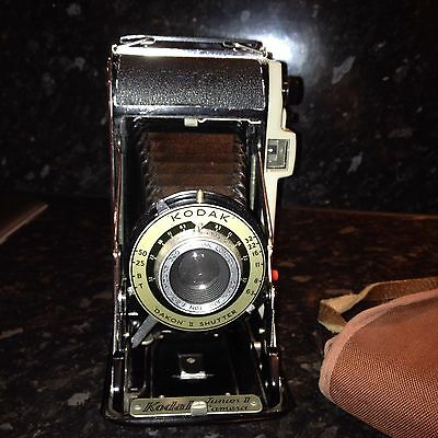 Vintage Kodak Junior II Camera With Case