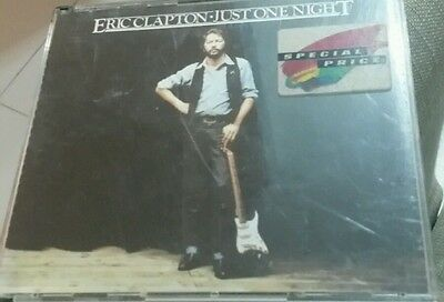 Eric clapton - Just one night  ( CD double )