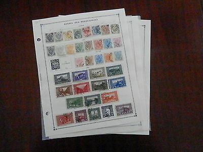 Bosnia Excellent Old Collection 1879-1918 Extra Fine Dr Schultz Estate !!9961B