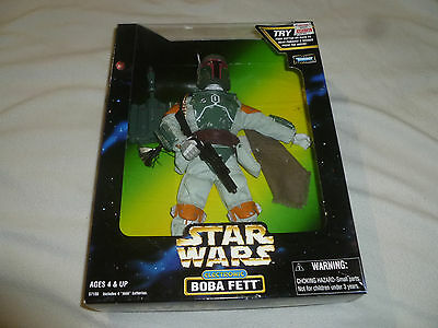 New Star Wars Electronic Boba Fett Poseable Figure Action Collection Kenner 1998