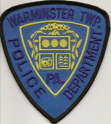Usa-Warminster Twp. Police Department Patch