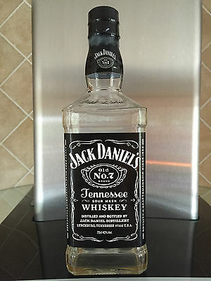 Jack Daniels Old No.7 Tennessee Sour Mash Whiskey - Empty Bottle