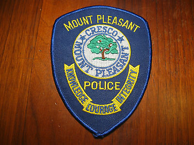Mount Pleasant South Carolina Police Patch