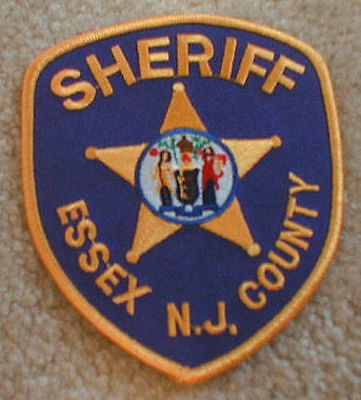 ESSEX County N.J. Sheriff's patch