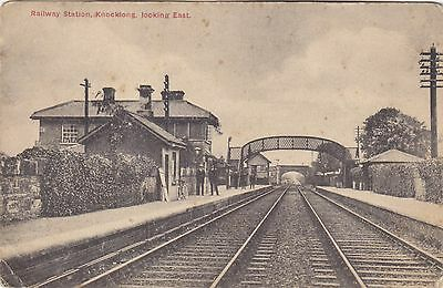 Limerick, Knockong, Railway Station Looking East.